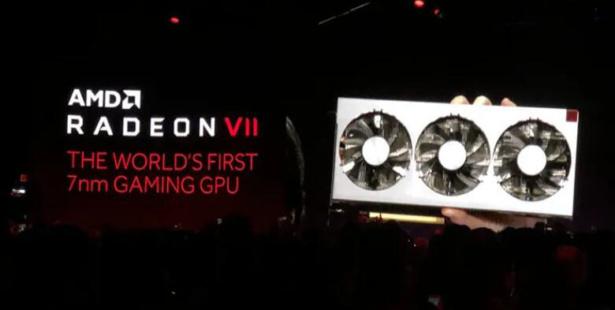 AMD推出全球首款7纳米游戏GPU,性能大幅提升,仅需699美元